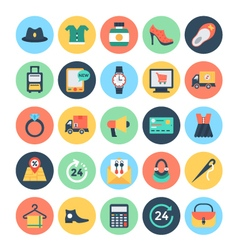 Shopping and e commerce icons 2 vector
