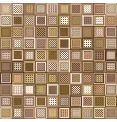 Pattern Mosaic Bricks vector image vector image