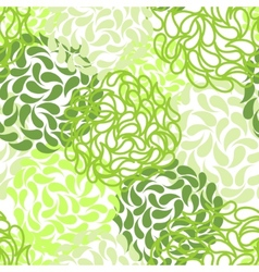 seamless floral background color abstract vector image vector image