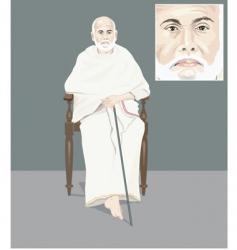 Sri narayan guru vector