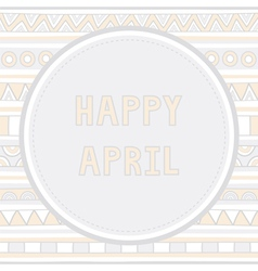 Happy april background1 vector