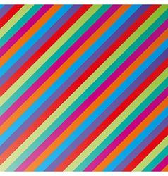 color lines vector image vector image