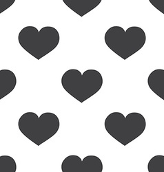 heart seamless pattern vector image
