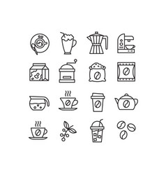 household appliances for preparation fragrant vector image vector image