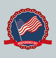 independence day 4th party vector image vector image