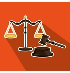 law concept design vector image vector image