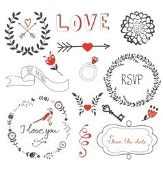Love set vector