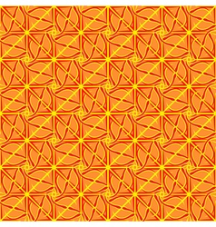 Abstract geometric seamless pattern in yellow vector