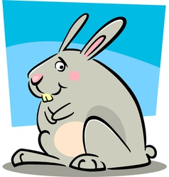 doodle bunny vector image