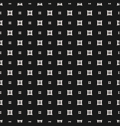 Geometric pattern rounded figures small squares vector