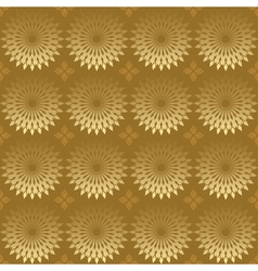 geometric texture with round elements vector image