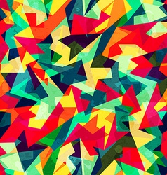 Kaleidoscope colored seamless pattern vector