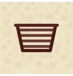 Laundry equipment design vector