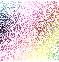 Multicolored dot abstract background eps vector