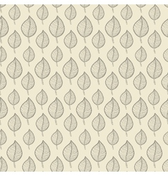 Pattern leafs begh vector image vector image
