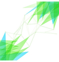 Abstract connection lines structure background vector