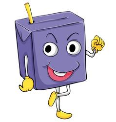 Juice box vector