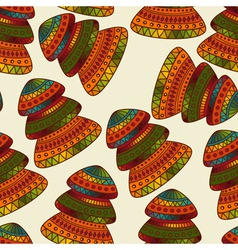 Seamless winter christams pattern vector