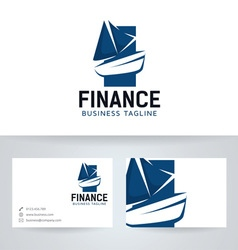 Boat finance vector