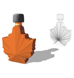 Maple syrup vector