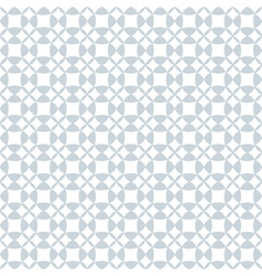 Pale geometric seamless pattern vector image