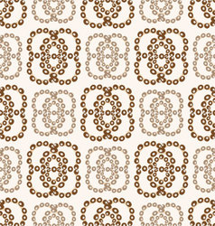 an abstract seamless pattern vector image vector image