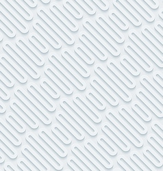 White perforated paper vector image vector image