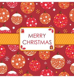 christmas wrapping vector image