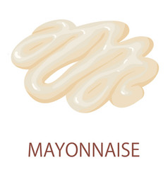 Mayonnaise icon isometric style vector
