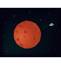 Planet mars vector