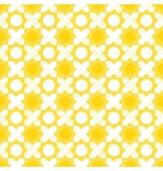 sketch of geometric traditional pattern vector image vector image