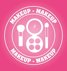Makeup kit vector