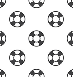 Lifebuoy seamless pattern vector