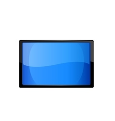 Touch screen tablet computer vector