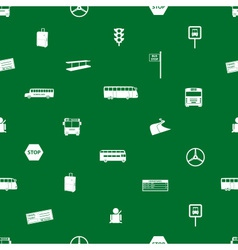 bus transport pattern eps10 vector image vector image