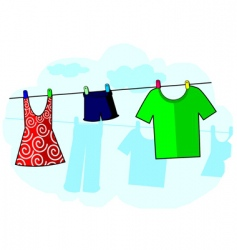 cloths vector image vector image