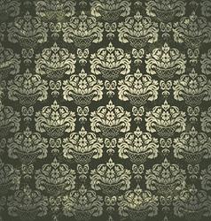Damask Vintage pattern vector image