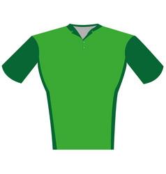 isolated sport uniform vector image