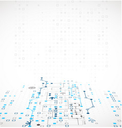 Structure pattern technology backdrop vector