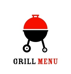 The grill icon vector image vector image
