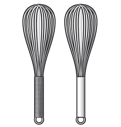 Balloon whisk vector
