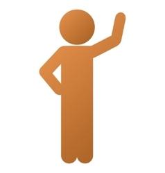 Child assurance gradient icon vector