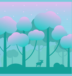 game fantasy wood background vector image vector image