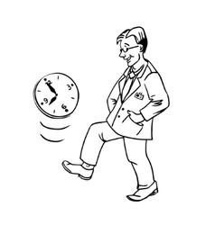 Linear procrastination vector