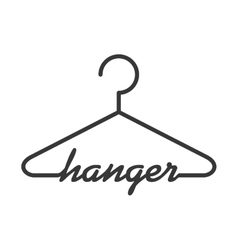 Hook icon hanger object design graphic vector