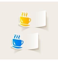 Realistic design element coffee vector