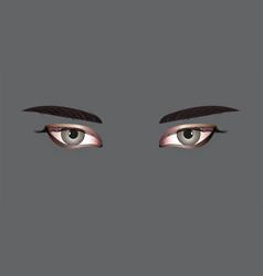 Women eyes vector