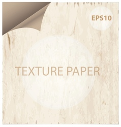 Texture paper curl vitage style background vector
