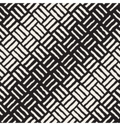 Seamless freehand geometric halftone vector