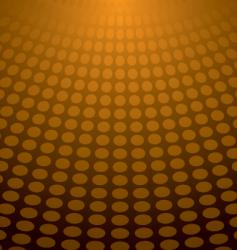 Circle light orange vector